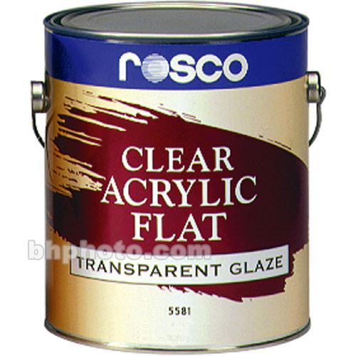 Rosco Clear Flat Acrylic Glaze