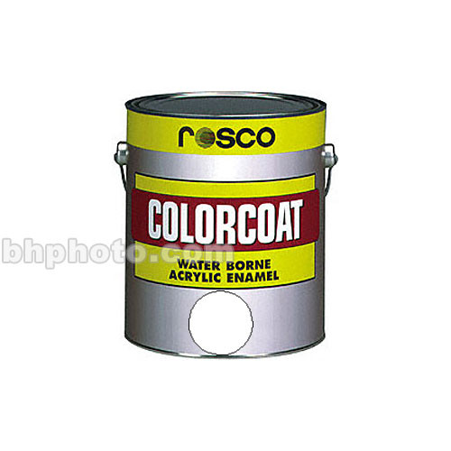 Rosco ColorCoat Paint - Clear Satin - 1 Qt.