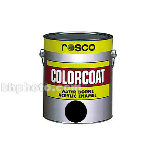 Rosco ColorCoat Paint - Black - 1 Qt.