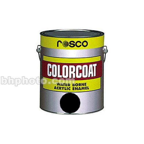 Rosco ColorCoat Paint - Black - 1 Qt.