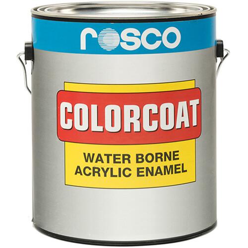 Rosco ColorCoat Paint - Flat Black - 1 Gal.