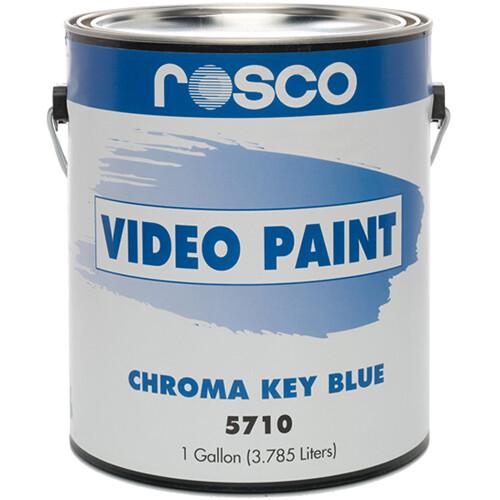 Rosco Chroma Key Paint (Blue, 1 Gallon)