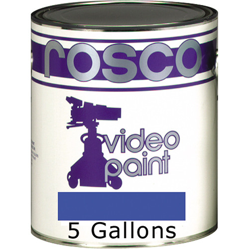 Rosco Chroma Key Paint (Blue, 5 Gallons)