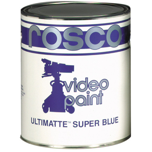 Rosco Ultimatte Video Paint - Super Blue