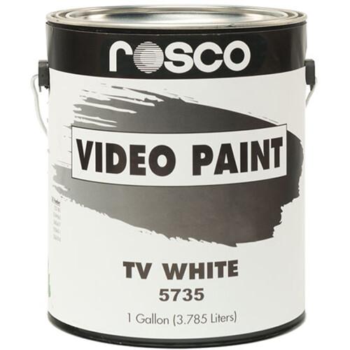 Rosco TV Paint - White - 1 Gal.