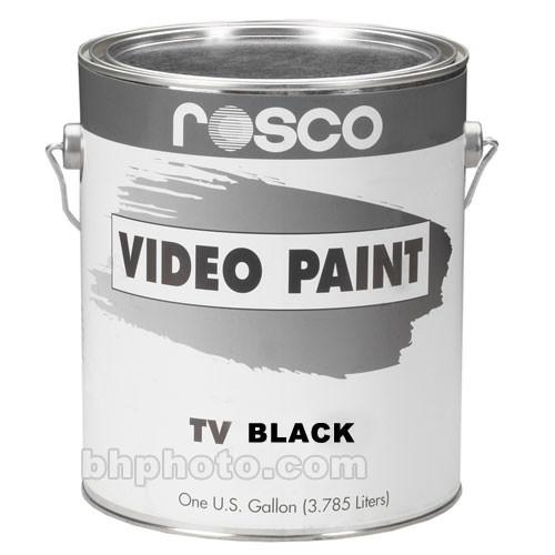 Rosco TV Paint - Black