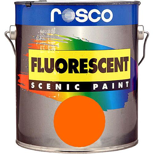 Rosco Fluorescent Paint (Orange, Matte, 1 Quart)