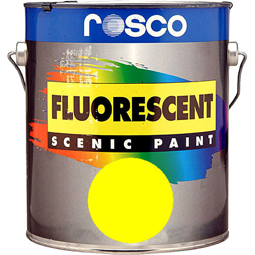 Rosco Fluorescent Paint - Yellow