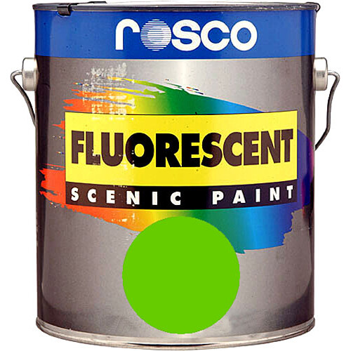 Rosco Fluorescent Paint (Green, Matte, 1 Pint)