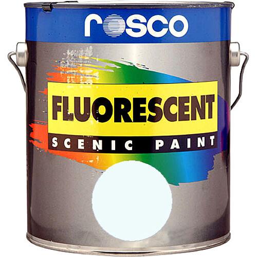 Rosco Fluorescent Paint (Invisible Blue, Matte, 1 Gallon)