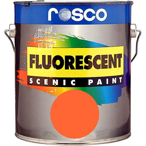 Rosco Fluorescent Paint (Gold, Matte, 1 Pint)