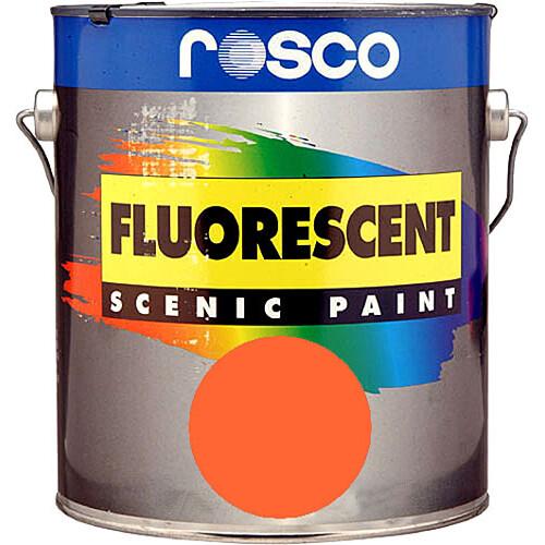 Rosco Fluorescent Paint (Gold, Matte, 1 Quart)