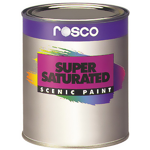 Rosco Supersaturated Roscopaint - Pthalo Green - 1 Quart (0.946 liter)