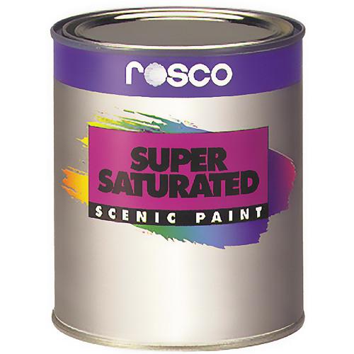 Rosco Supersaturated Roscopaint - Spectrum Red - 1 Quart (0.946 liter)
