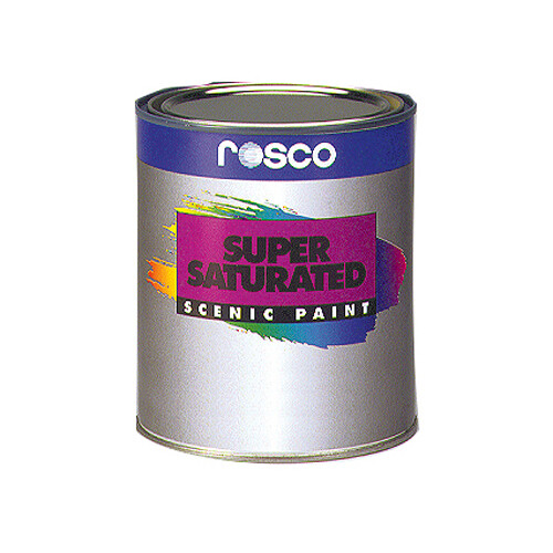Rosco Supersaturated Roscopaint - Turquoise Blue - 1 Qt.