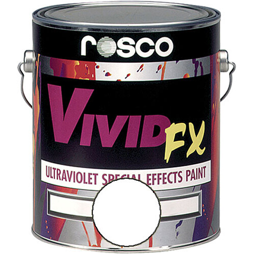 Rosco Vivid FX Paint - Bright White