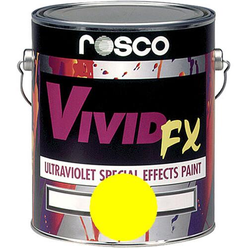 Rosco Vivid FX Paint - Lemon Yellow - 1 Gal.