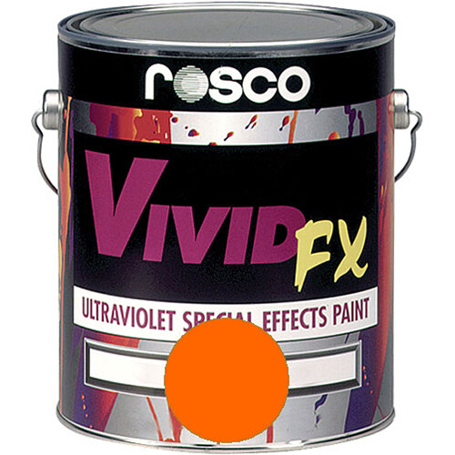 Rosco Vivid FX Paint - Orange Sunset - 1 Gal.