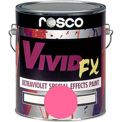 Rosco Vivid FX Paint - Hot Pink - 1 Qt.