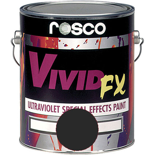 Rosco Vivid FX Paint - Deep Blue - 1 Gal.
