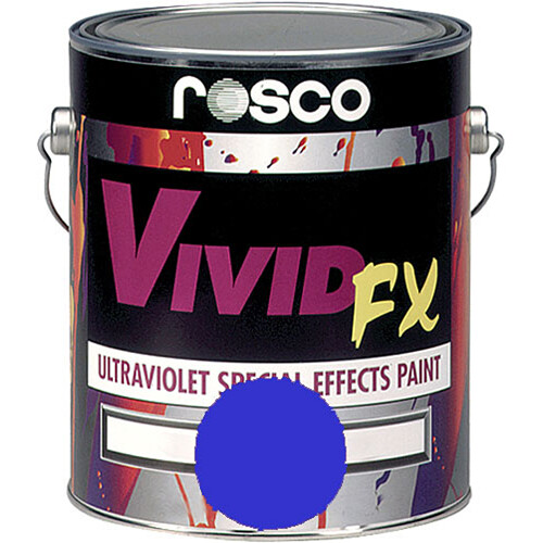 Rosco Vivid FX Paint - Brilliant Blue