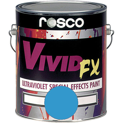 Rosco Vivid FX Paint - Aquamarine