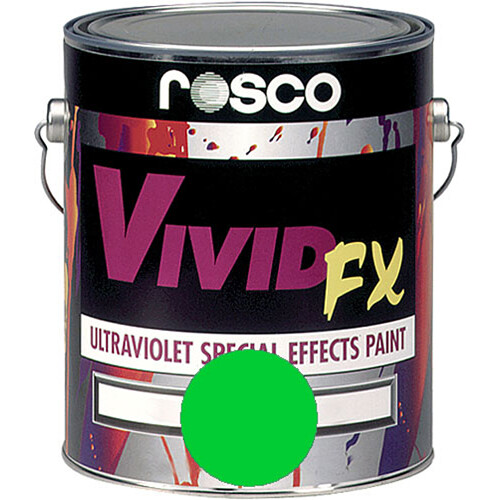 Rosco Vivid FX Paint - Electric Green - 1 Gal.