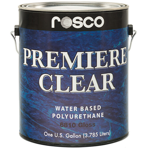 Rosco Premiere Clear Gloss Paint (1 Gallon / 3.78 liters)
