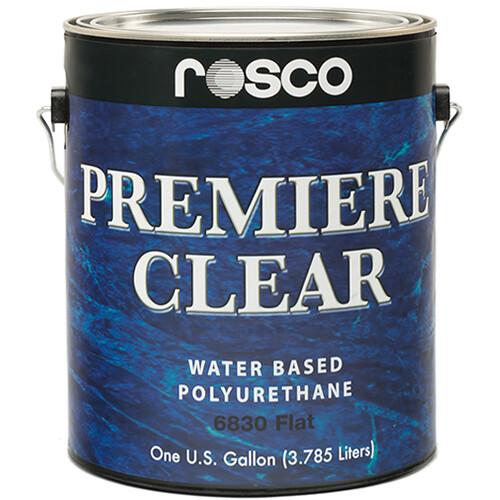 Rosco Premiere Clear Flat Paint (1 Gallon / 3.78 liters)