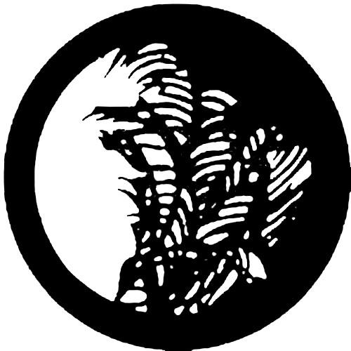 Rosco Steel Gobo #7127 - Palm Leaf