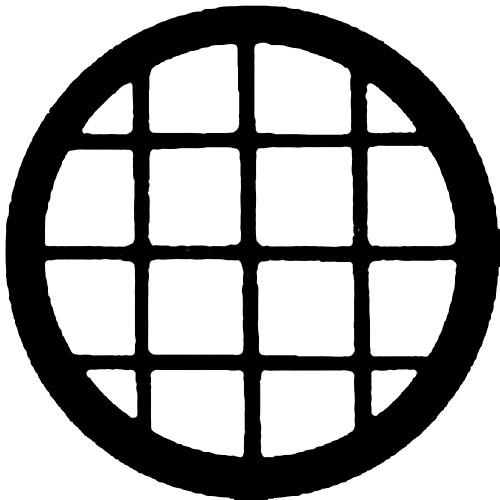Rosco Steel Gobo #7136 - Circular