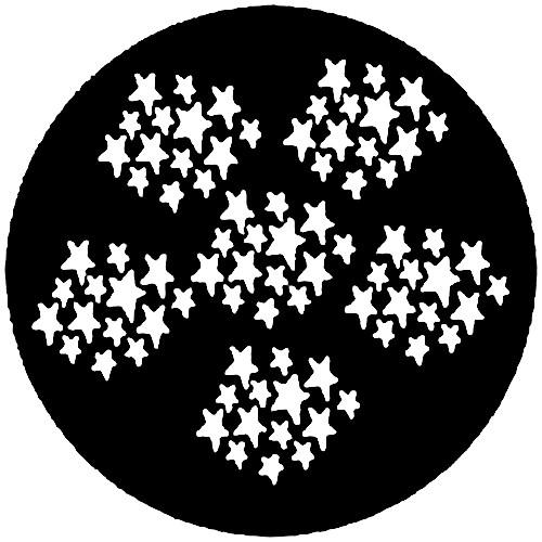 Rosco Steel Gobo #7202 - Stars 2