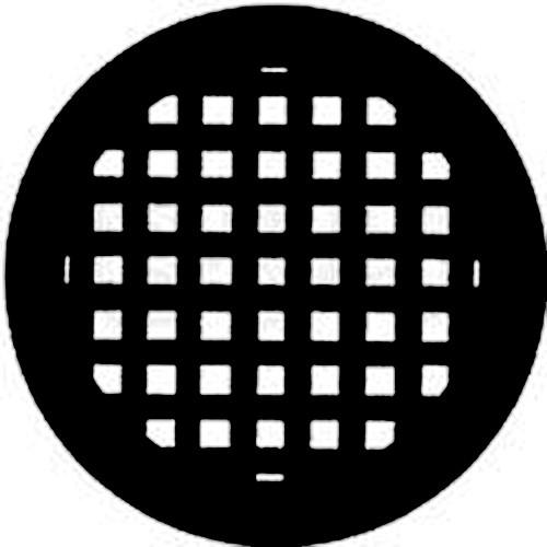 Rosco Standard Steel Gobo #7204 - Basket Weave - Size B 86mm