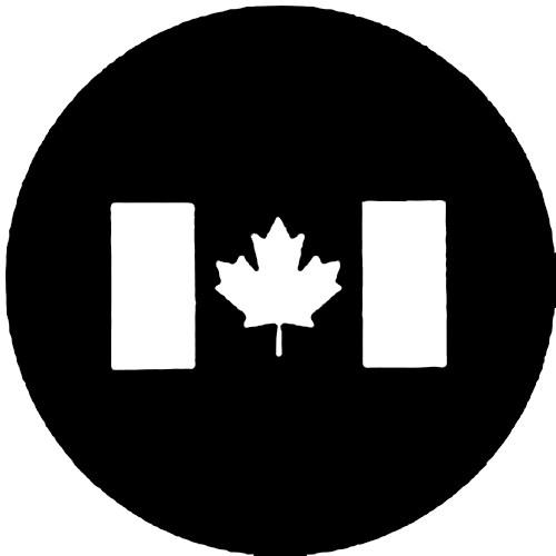 Rosco Standard Steel Gobo #7210 - Canadian Flag
