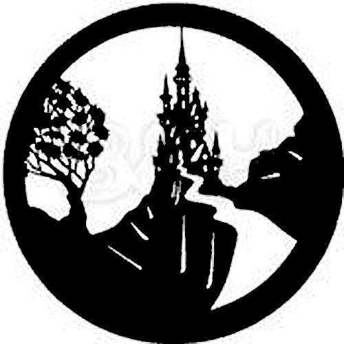 Rosco Steel Gobo #7213 - Fairy Castles