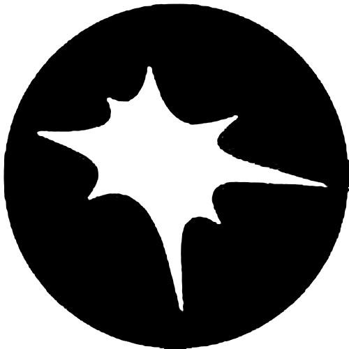Rosco Standard Steel Gobo #7218 - Splat