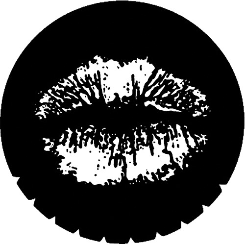 Rosco Steel Gobo #7219 - Lips - Size M