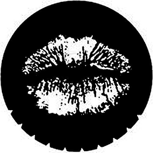 Rosco Steel Gobo #7219 - Lips - Size A