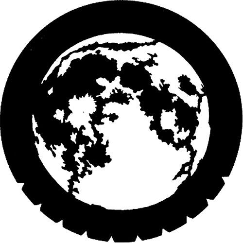 Rosco Standard Steel Gobo #7220 - Moon - Size M 66mm