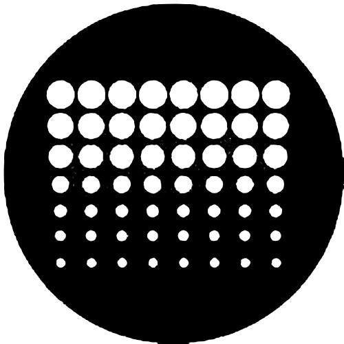 Rosco Steel Gobo #7226 - Geometrics 7