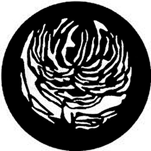 Rosco Standard Steel Gobo #7240 - Floral 2
