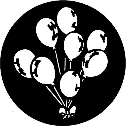 Rosco Standard Steel Gobo #7303 - Balloons - Size B 86mm