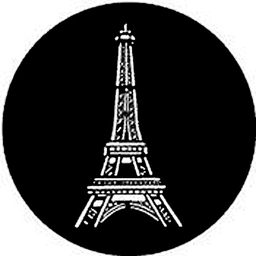 Rosco Steel Gobo #7305 - Eiffel Tower