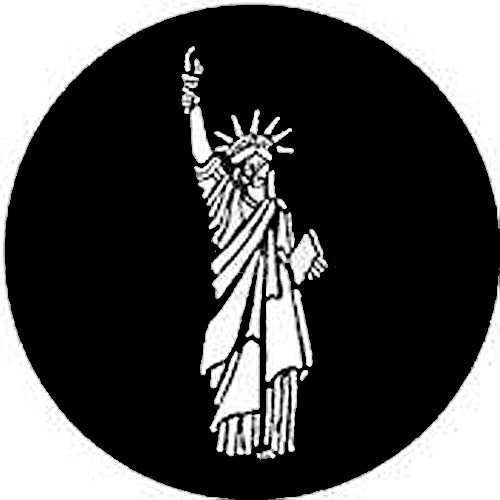 Rosco Steel Gobo #7307 - Statue of Liberty
