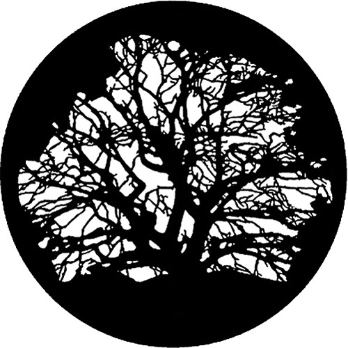 Rosco Steel Gobo #7320 - Tree 3 - Size E