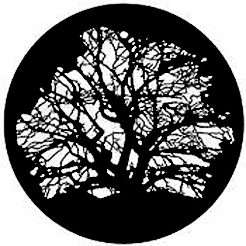 Rosco Steel Gobo #7320 - Tree 3 - Size A
