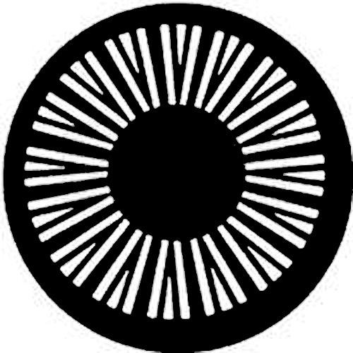 Rosco Steel Gobo #7391 - Geometrics