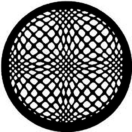 Rosco Steel Gobo #7395 - Geometrics 5