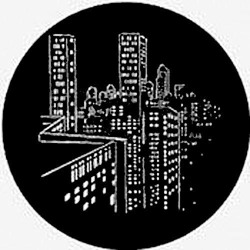 Rosco Steel Gobo #7443 - Skyscrapers
