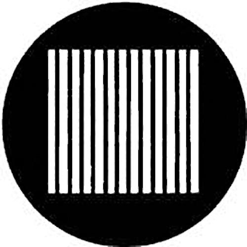 Rosco Steel Gobo #7508 - Slats